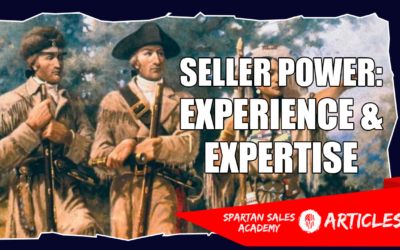 SELLER POWER #6 – EXPERIENCE AND EXPERTISE